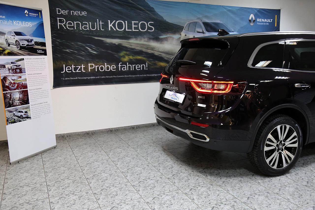 Renault Koleos Initiale Paris Heckansicht