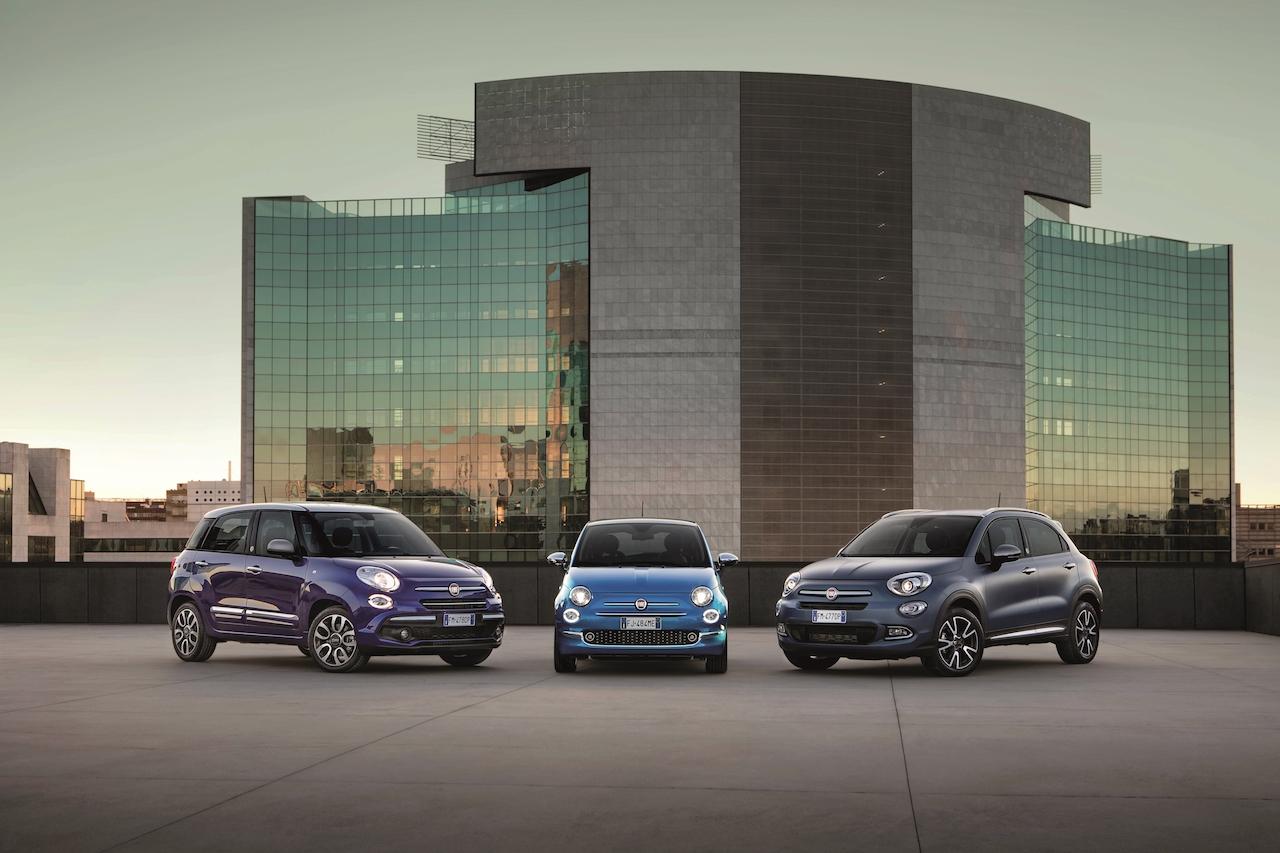 Fiat 500, Fiat 500X und Fiat 500L Exterieur