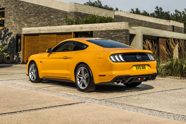 Ford Mustang Heck