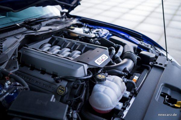Ford Mustang GT Convertible Motorraum