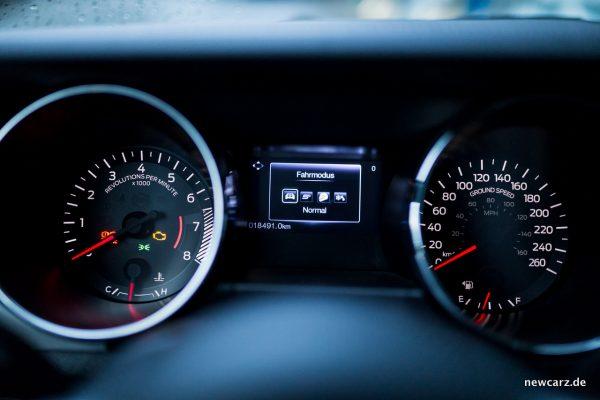 Ford Mustang GT Convertible Fahrmodi