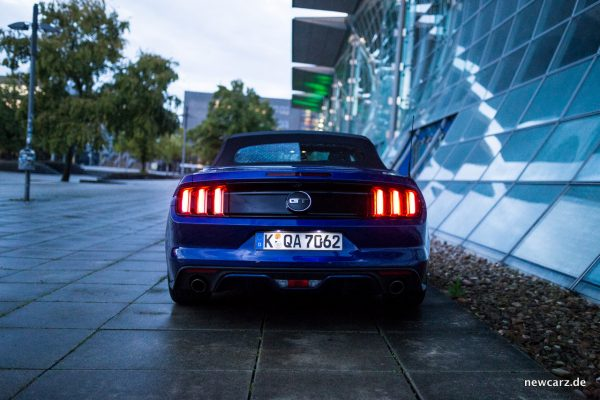 Ford Mustang GT Convertible Heck