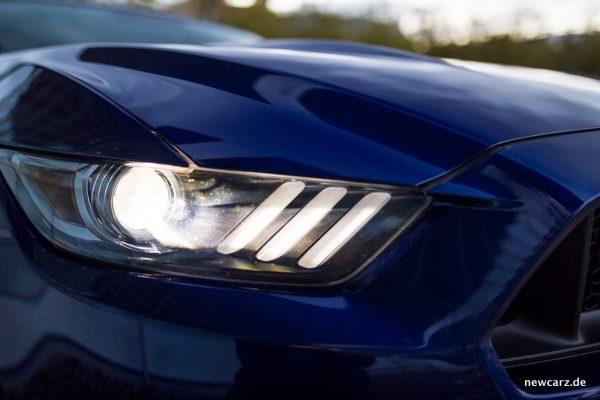 Ford Mustang GT Convertible Scheinwerfer