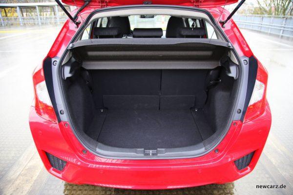 Honda Jazz Kofferraum