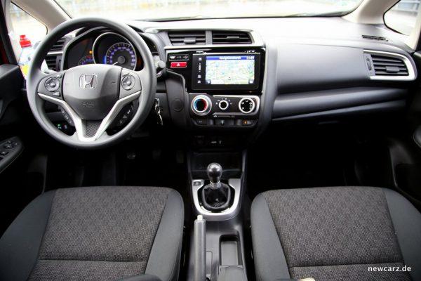 Honda Jazz Interieur
