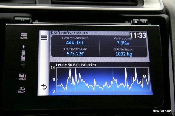 Honda Jazz Navigationssystem