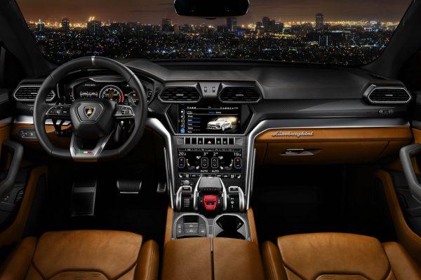 Lamborghini Urus Interieur