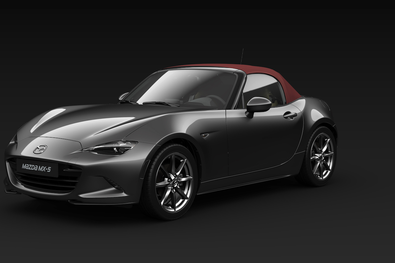 mazda mx 5 summerfeeling im sondermodell newcarz. Black Bedroom Furniture Sets. Home Design Ideas