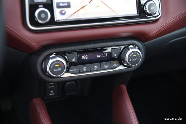 Nissan Micra Klimaanlage