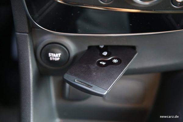 Renault Clio Grandtour Key Kard