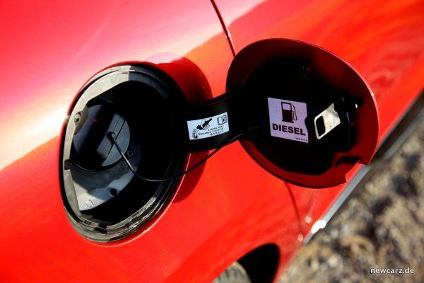 Renault Clio Grandtour Tankdeckel