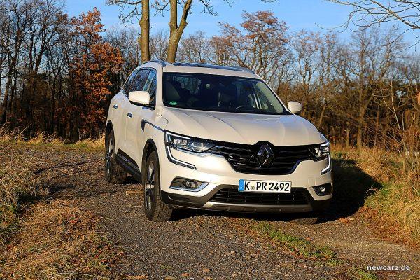Renault Koleos II vorn schräg rechts