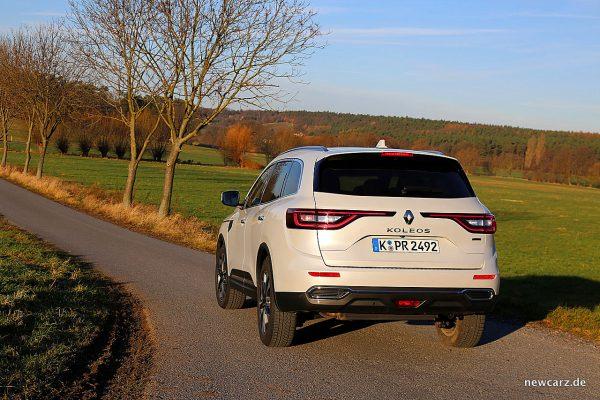 Renault Koleos II Heck