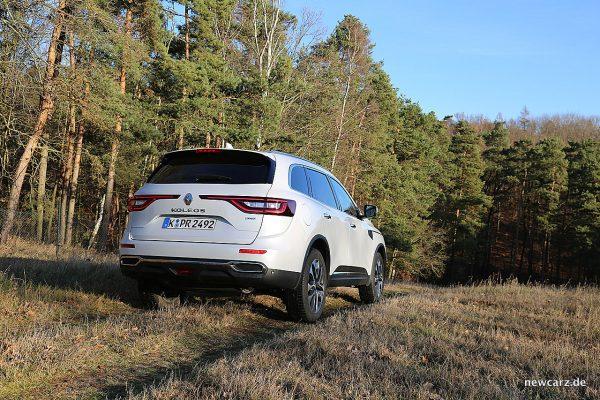 Renault Koleos II schräg hinten rechts