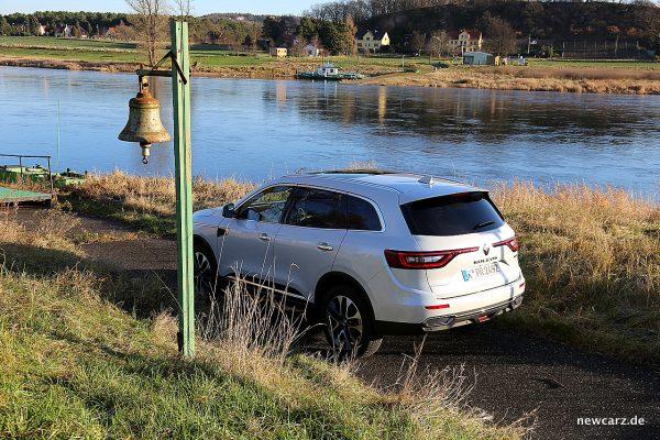 Renault Koleos II schräg hinten oben