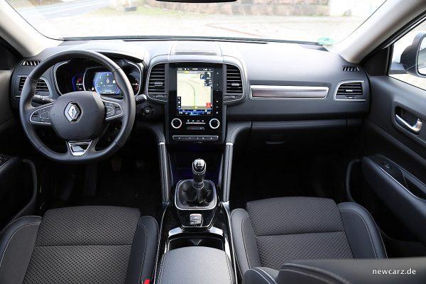 Renault Koleos II Armaturenbereich