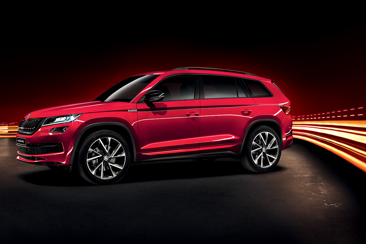 skoda kodiaq sportline versch rfte optik newcarz. Black Bedroom Furniture Sets. Home Design Ideas