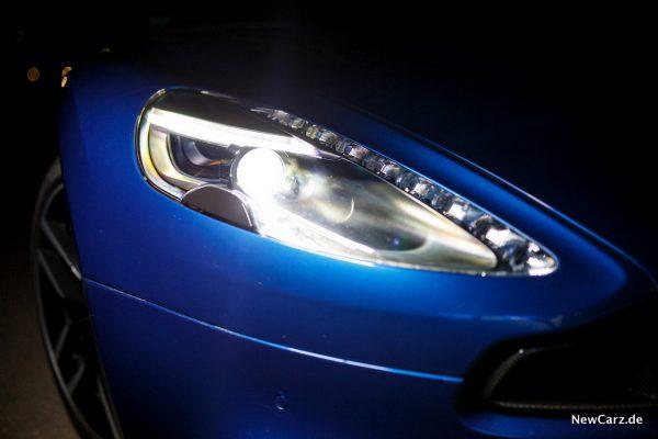 Aston Martin Vanquish S Volante Scheinwerfer