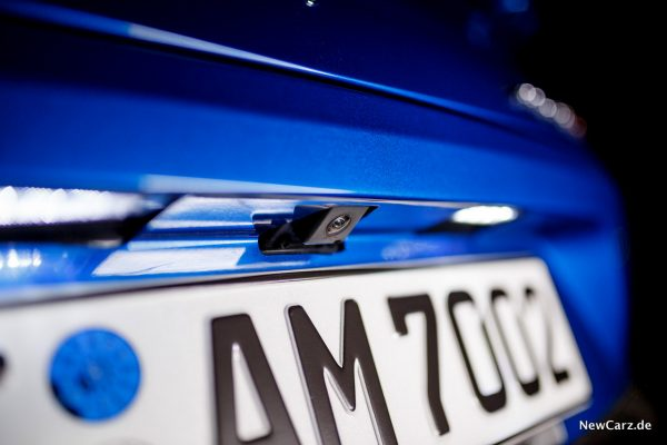 Aston Martin Vanquish S Volante Rückfahrkamera