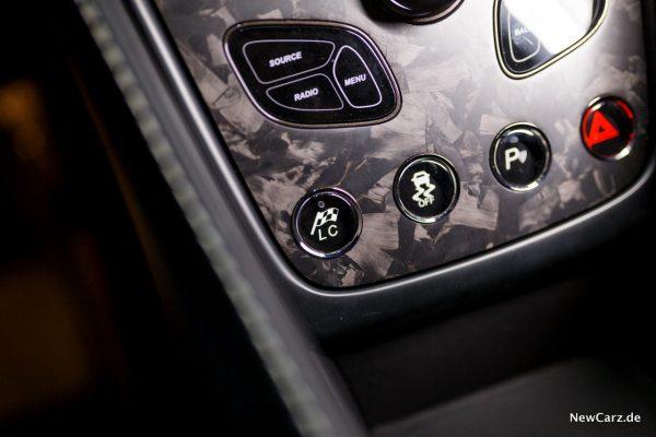 Aston Martin Vanquish S Volante Launch Control