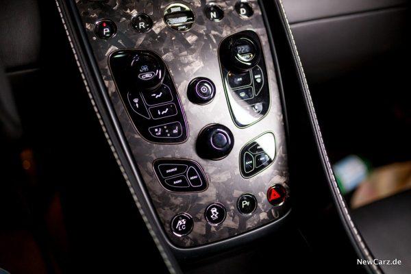 Aston Martin Vanquish S Volante Mittelkonsole