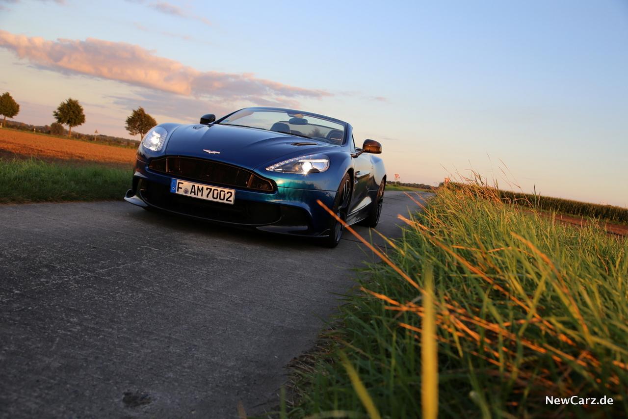 Aston Martin Vanquish S Volante Wild At Heart Newcarz De