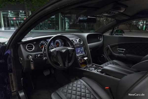 Bentley Continental GT V8 S Interieur