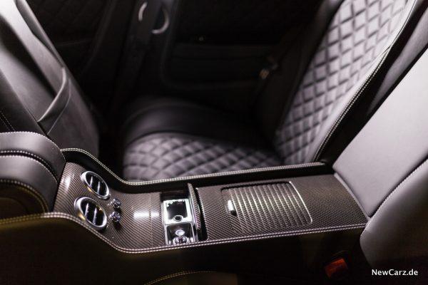 Bentley Continental GT V8 S Mittelkonsole