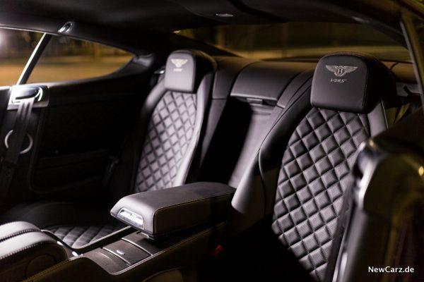 Bentley Continental GT V8 S Rücksitze