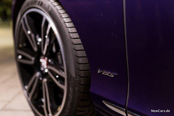 Bentley Continental GT V8 S Schriftzug