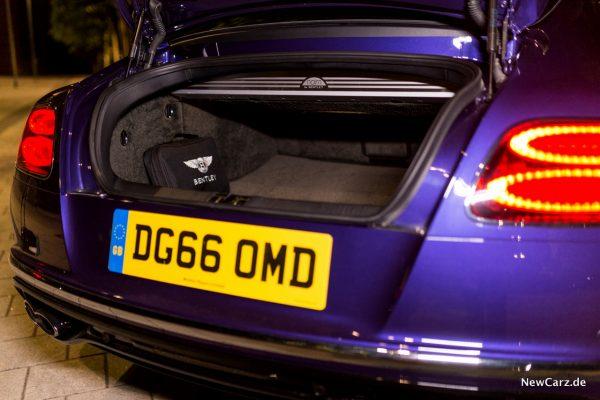 Bentley Continental GT V8 S Kofferraum