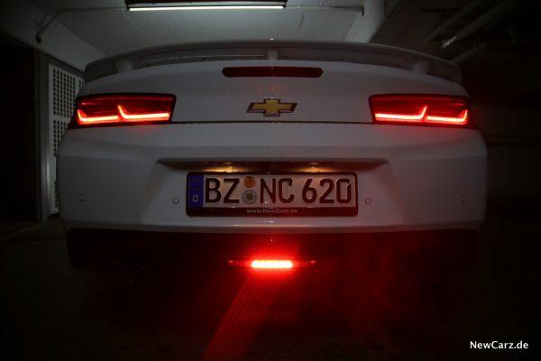 Chevrolet Camaro Cabriolet Nebelschlussleuchte