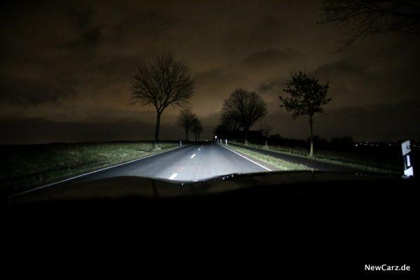 Chevrolet Camaro Cabrio Licht Ausleuchtung