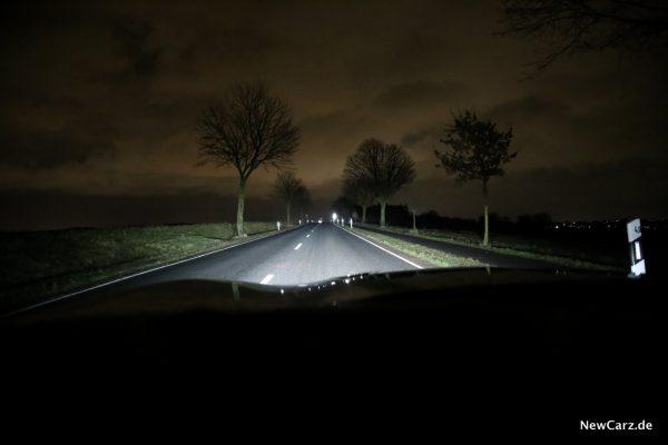 Chevrolet Camaro Licht Fernlicht