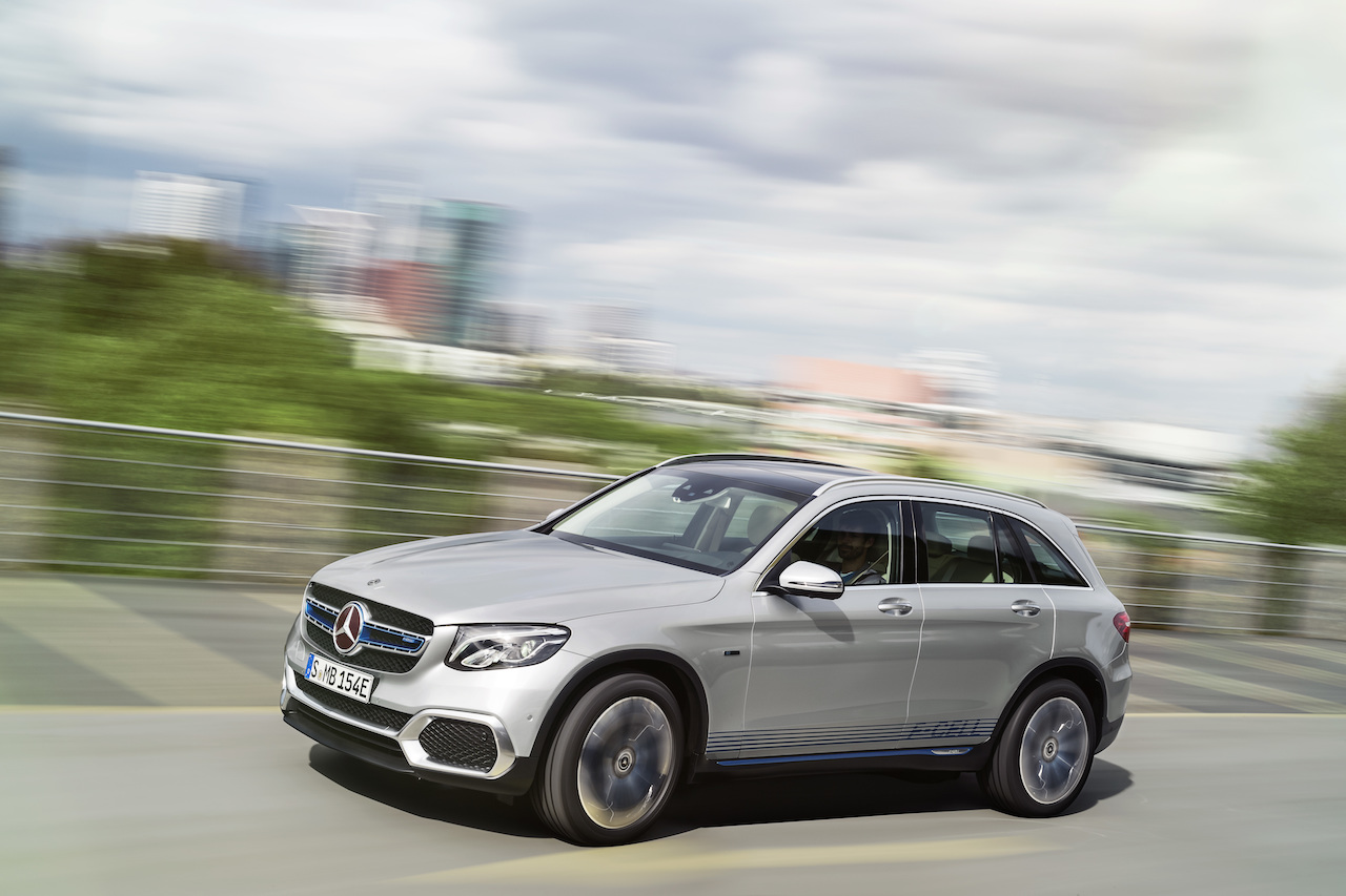 Mercedes-Benz GLC F‑CELL Exterieur