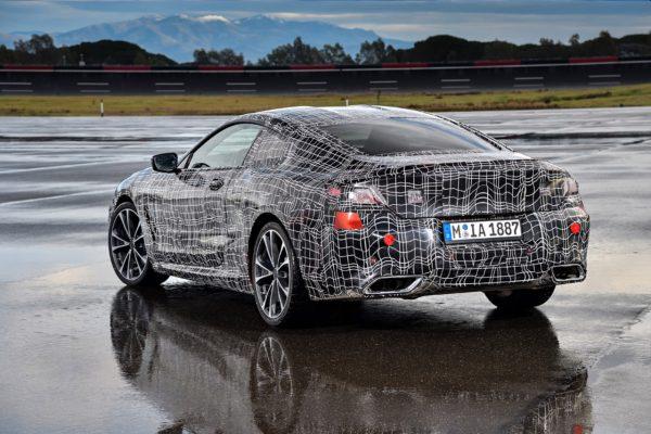 BMW 8er Coupe Heck Erlkönig