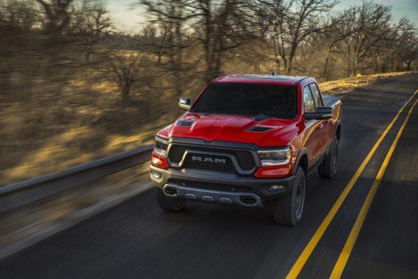 Dodge Ram 1500 Modell 2019 schräg vorne