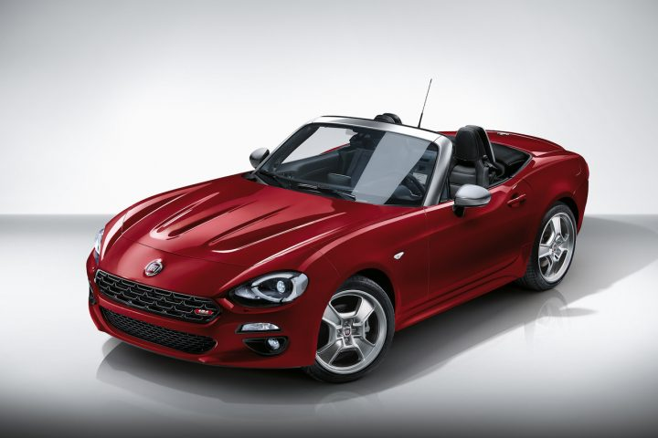 Fiat 124 Spider Europa Limited Edition Exterieur