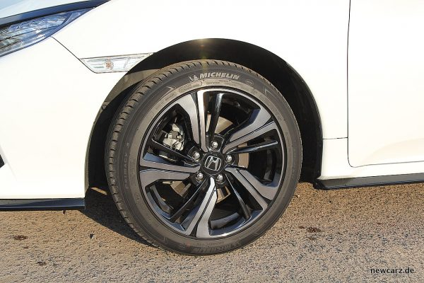 Honda Civic MKX Vorderrad