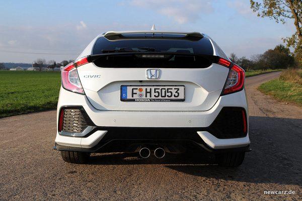 Honda Civic MKX Heck