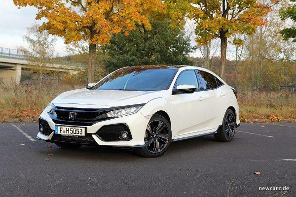 Honda Civic MKX schräg vorne Fahrerseite