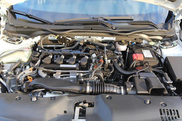 Honda Civic MKX Motorraum