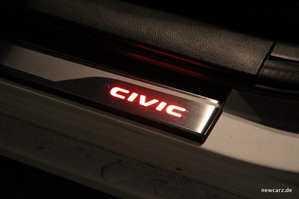 Honda Civic MKX Einstiegsleiste