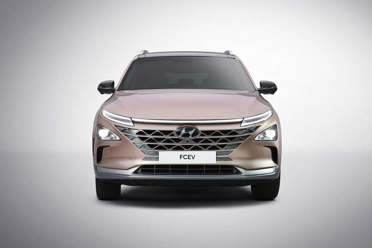 Hyundai FCEV Exterieur