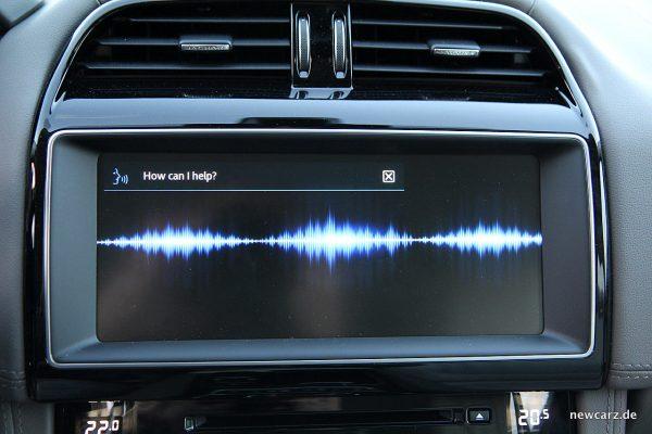 Jaguar F-Pace Bildschirm