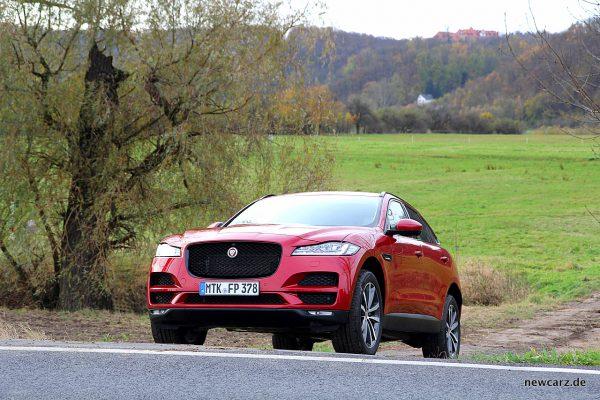Jaguar F-Pace Steigung