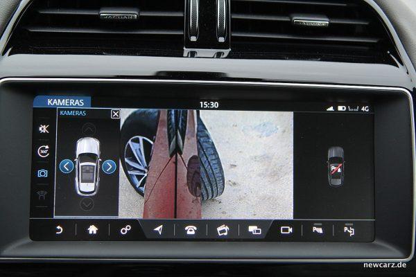 Jaguar F-Pace Rückfahrkamera
