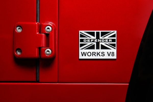 Land Rover Defender Works V8 Exterieur