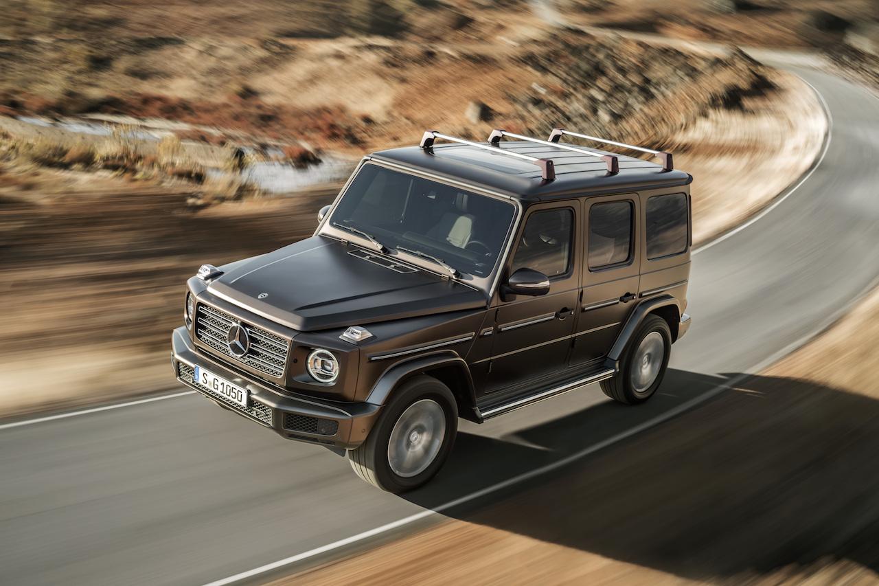 Mercedes benz g klasse tradition und hightech newcarz for Mercedes benz delaware