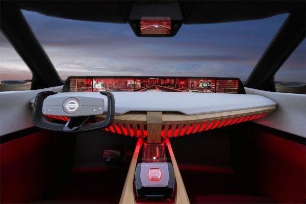 Nissan Xmotion Interieur